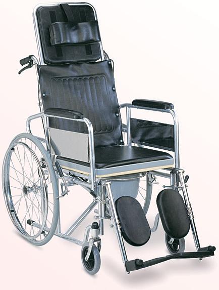 Reclining Wheelchair Bed Cum Wheelchair